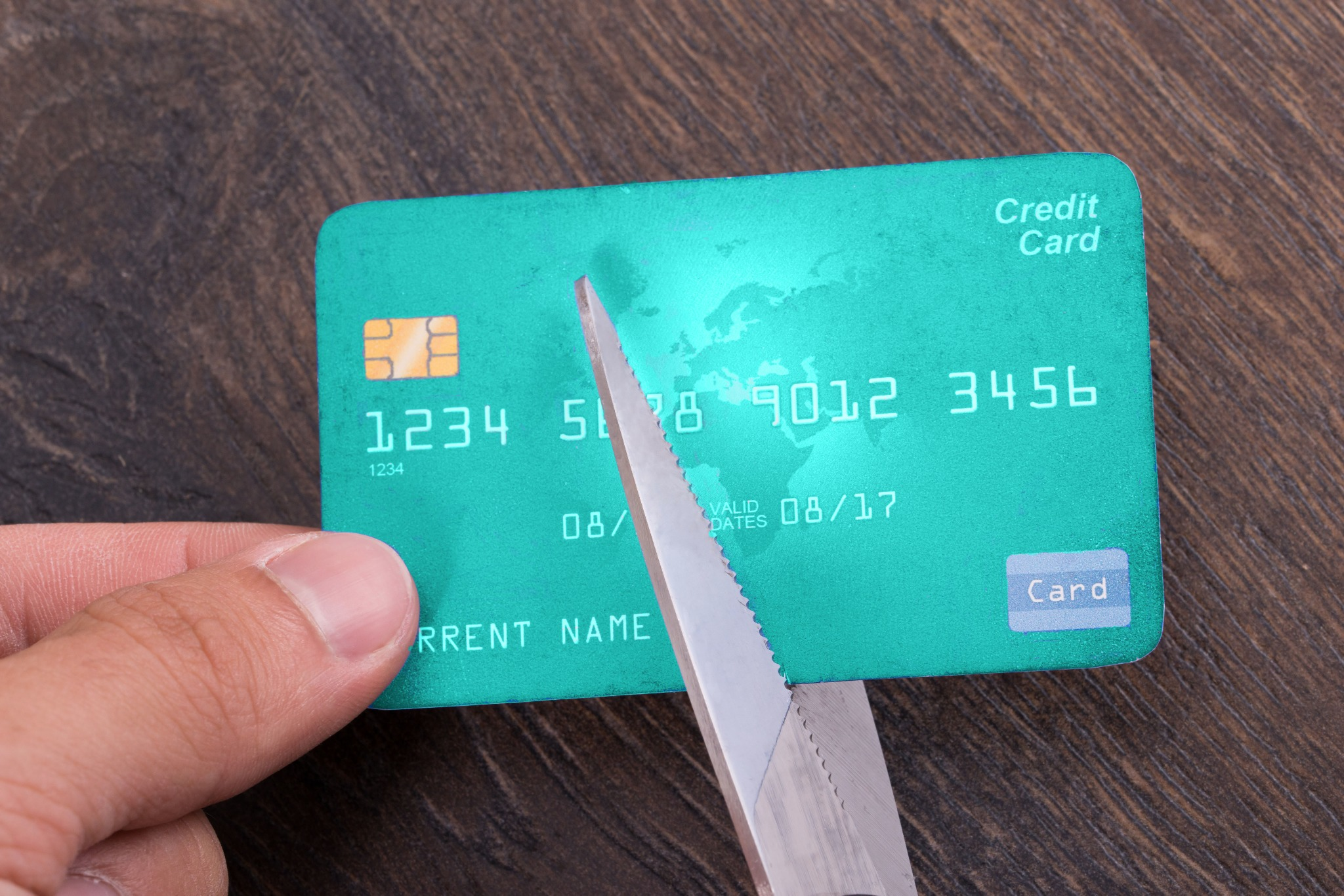 Cutting Up A Credit Card - Upstart Personal Loans
