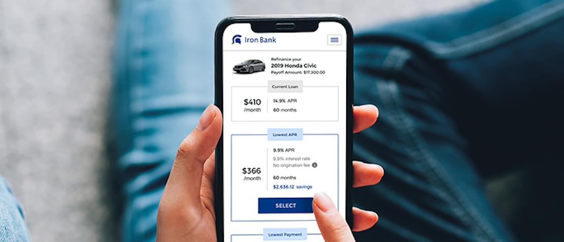 Soft Pull Auto Loan Mobile App